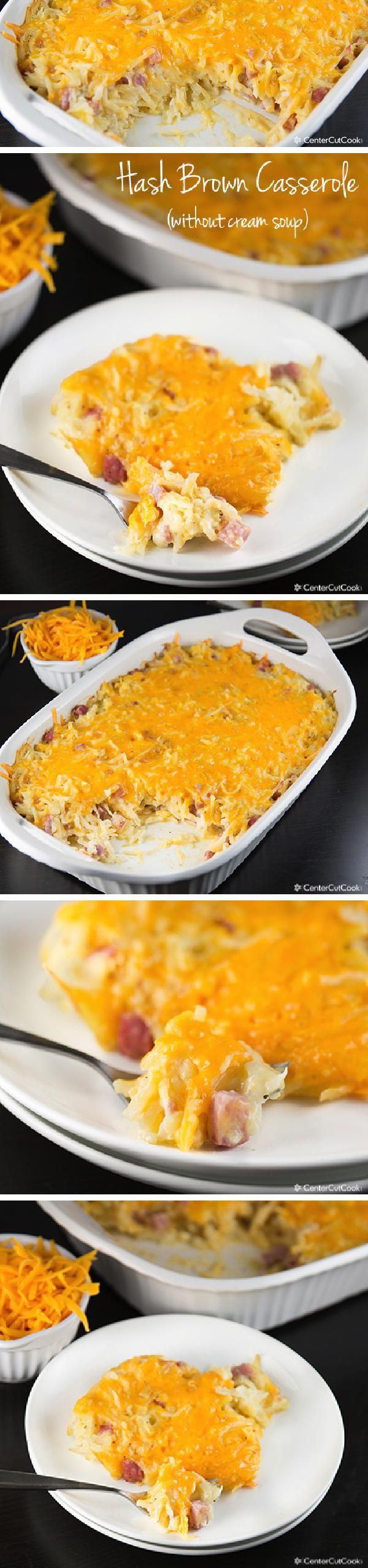 Traditional HASH BROWN CASSEROLE (similar to Cracker Barrel), but updated without CREAM soup! Comforting, delicious, and can also be made in the slow cooker or frozen and made at a later date!