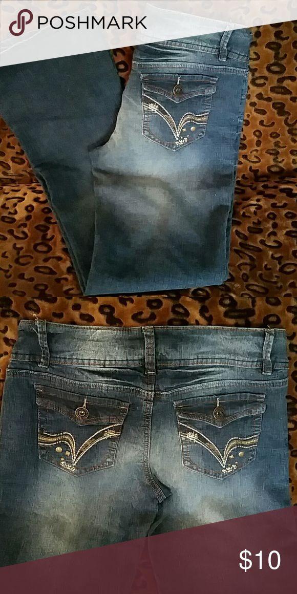 Wallflower jeans Wallflower reg. Wash bootcut jeans size 9 juniors wallflower  Jeans Boot Cut