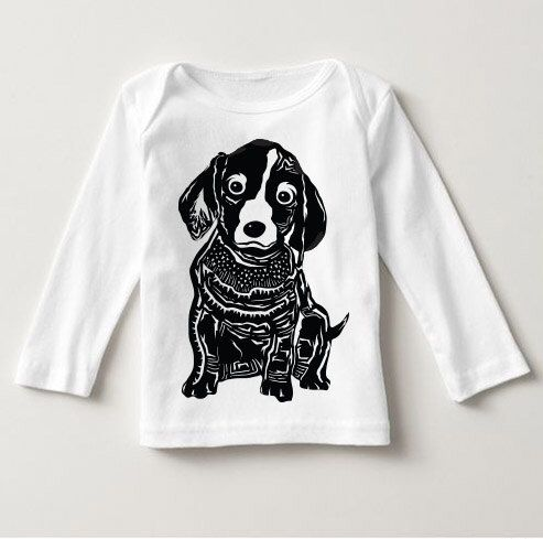 NEW! - Pick a Dog Breed & Style Infant Long-Sleeve T-Shirt, Baseball Tee, or Onesie | Dog Lovers Typography Infant's Graphic Tee | Dog Lover by BarkleyandWagz on Etsy https://www.etsy.com/listing/477156492/new-pick-a-dog-breed-style-infant-long