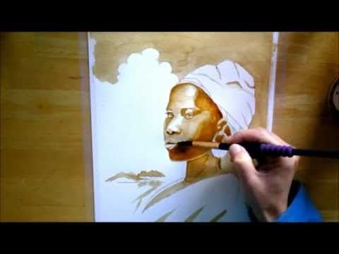17 Best Ideas About Coffee Painting On Pinterest Coffee