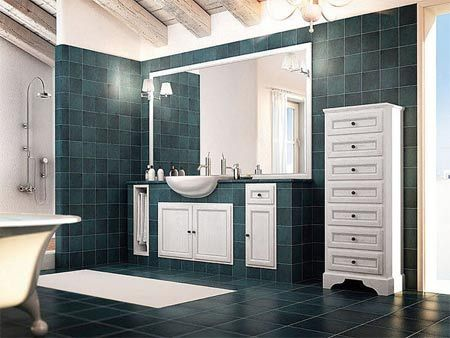 Oltre 25 fantastiche idee su bagni rustici su pinterest - Bagno in muratura costi ...