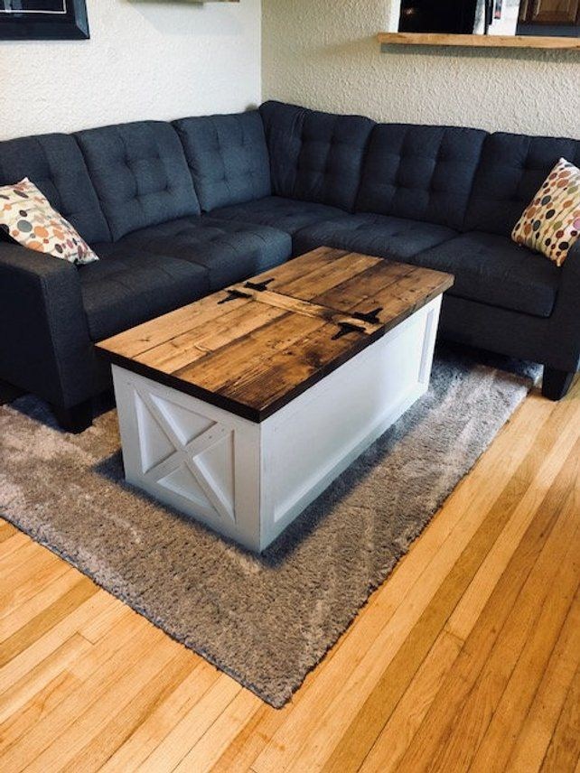 Farmhouse Storage Coffee Table Free Shipping Coffee Table