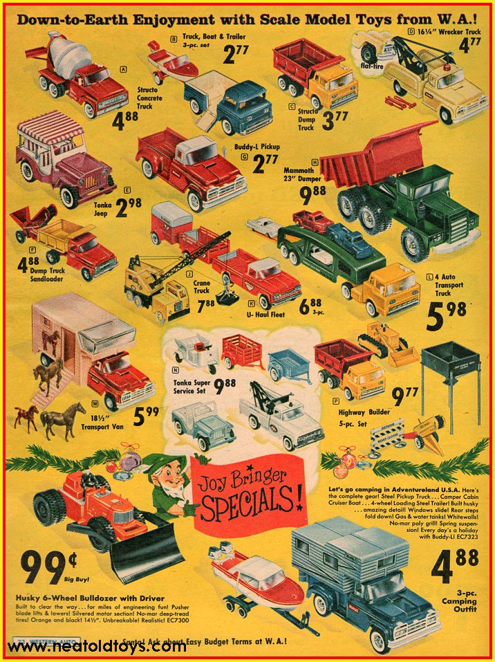 1962 Western Auto Christmas Gifts Catalog Ad