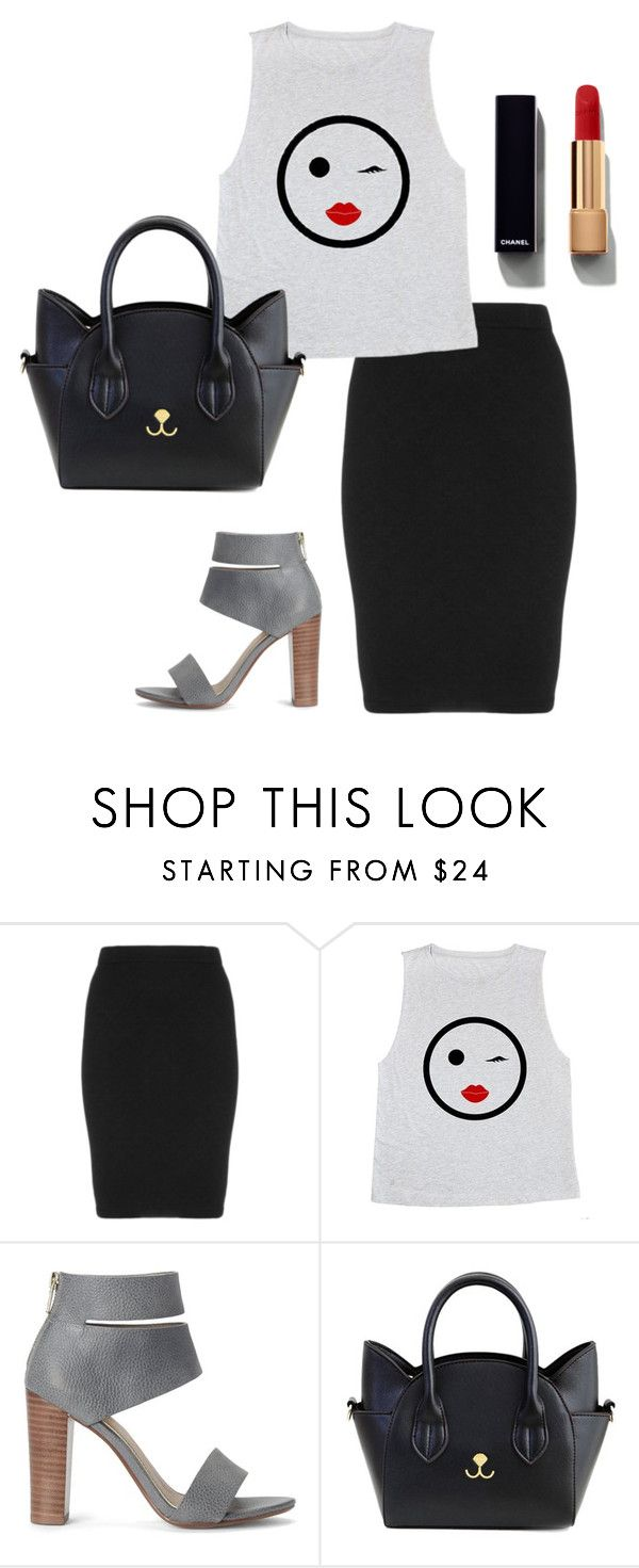 """Sophisticated Student Style"" by britscarike on Polyvore featuring Manon Baptiste, Splendid and Chanel"