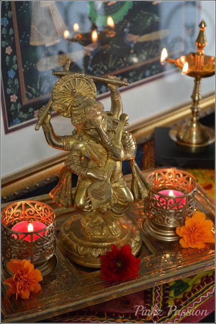 Festive décor, Indian festival décor, Navratri décor, dandiya ganesha