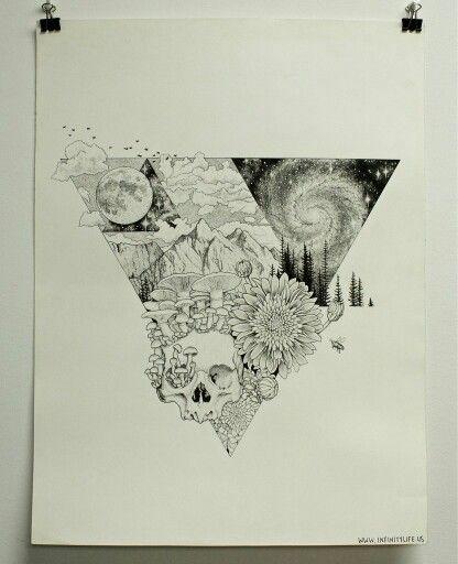 Skulls. Sky. Scenery.  Skill.
