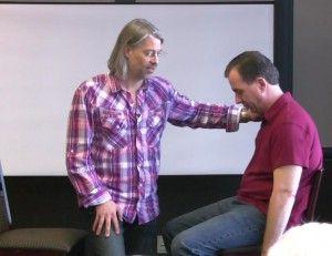 Steve Roehm teaching Hypnosis