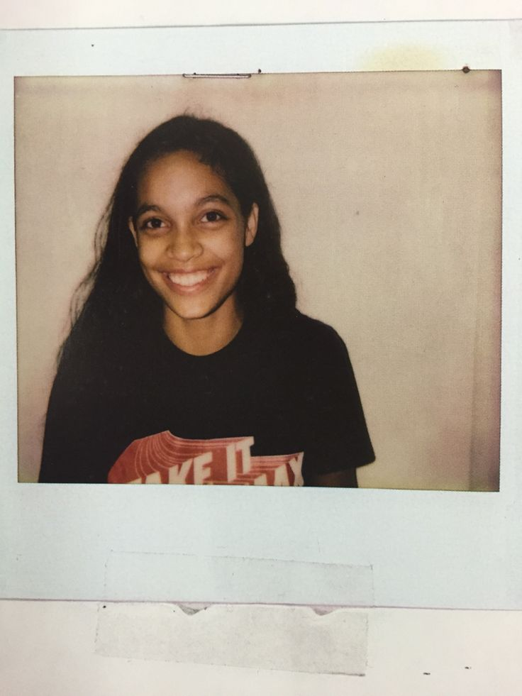 Young Rosario Dawson, she's now an actress and Eco-Activist as well as founder of several philanthropic organizations.