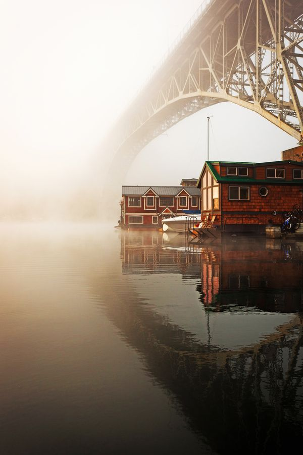 Very cool pic of Fremont - Foggy morning in Fremont by Harrison Liu