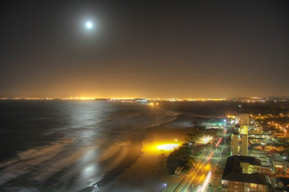 Strand beach, South Africa