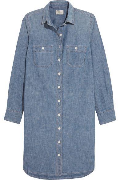 J.Crew - Cotton-chambray Dress - Blue