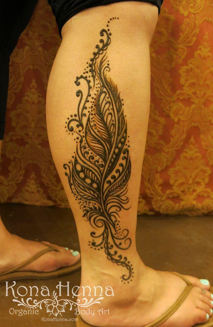 Professional Henna Tattoo: 1000+ Ideas About Henna Leg Tattoo On Pinterest