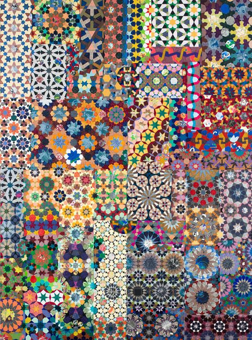 Joyce Kozloff - Maps & Patterns | Patternbank