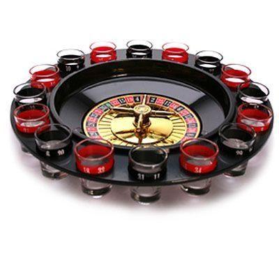 Diviértete tomando chupitos con este juego de ruleta que está fabricado con plásticos de alta resistencia.  17,45 € (IVA incl.)