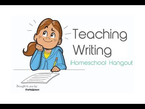 Teaching Writing in Your Homeschool- an iHomeschool Hangout. Find more H.O.A.s at www.HOAShows.com