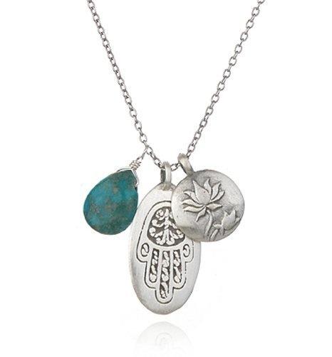 Satya Jewelry Silver Turquoise, Hamsa, Lotus Charm Necklace Satya Jewelry,http://www.amazon.com/dp/B003ZYF954/ref=cm_sw_r_pi_dp_RuQQrb2115734F93