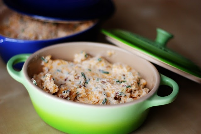 Bacon Chive Cheese Dip (serve cold or hot)