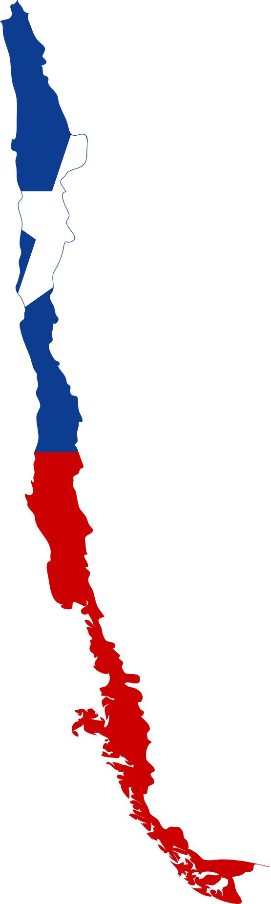 Chile Clip Art | Flag Map of Chile Flags 2011 Clip Art SVG openclipart.org commons ...