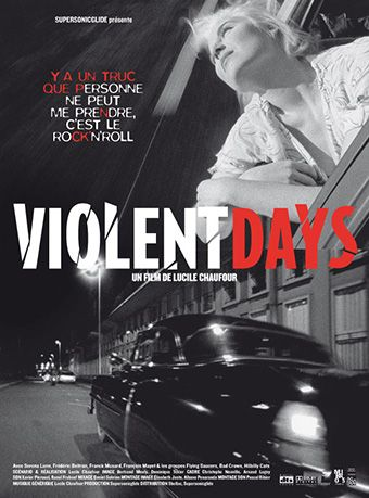 Poster for the French movie Violentdays by Lucile Chaufour © intwodesign
