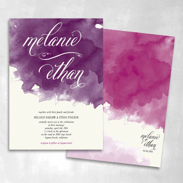 Day Dream Wedding Invitations