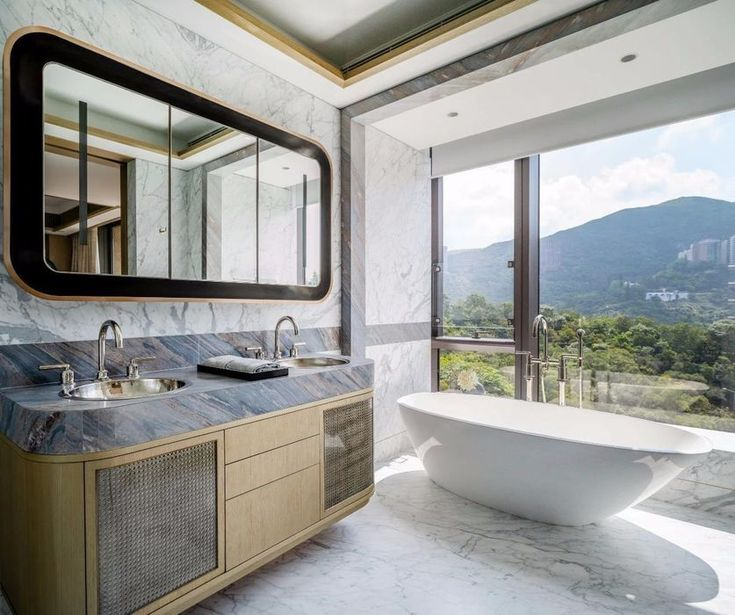 Deep Water Bay Hong Kong Mansion, Modern Style Combined