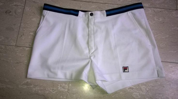 Pantaloncini Tennis vintage FILA originali in ottime condizioni