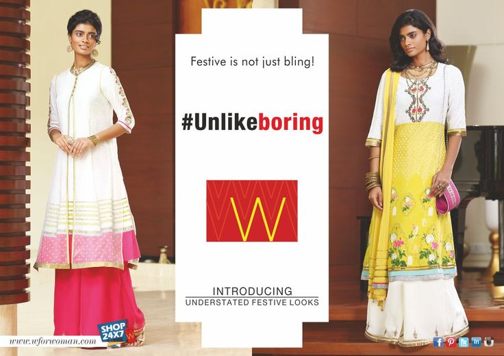 Shed some boring fashion cliches and shop from our #Unlikeboring collection.