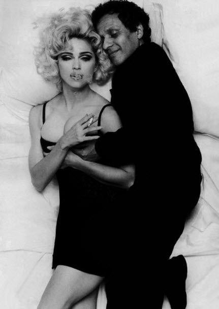 Madonna  and Azzedine Alaia