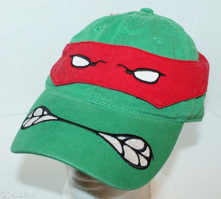 teenage mutant ninja turtles baseball hat caps turtle retro cap kid green