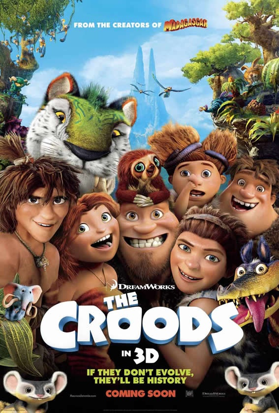 The Croods Debut from $ 45 Million to the U.S.