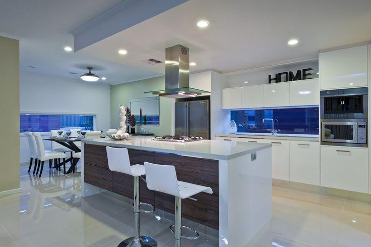 Rio Display Home at Lightsview - Kitchen http://sa.rivergumhomes.com.au/home-designs/rio