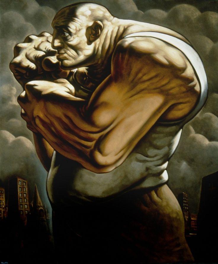 Title: Mechech Dimensions: 244 x 204 cm Medium: Oil on Canvas Date: 1997