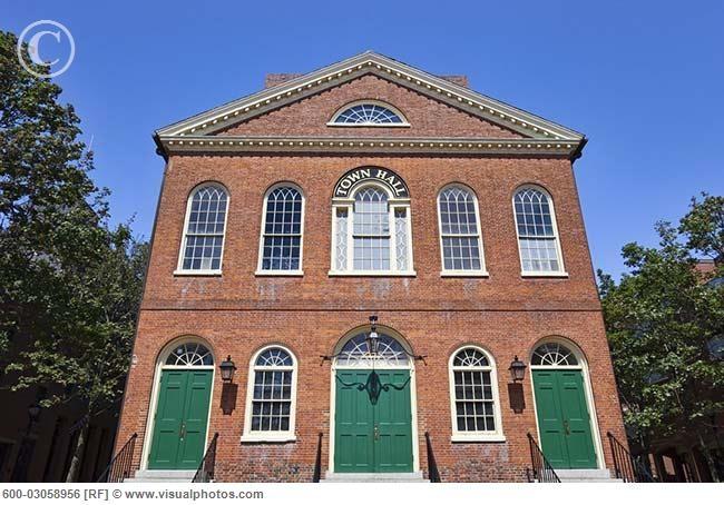 The Hocus Pocus Movie Halloween dance was filmed here.   Salem, Massachusetts