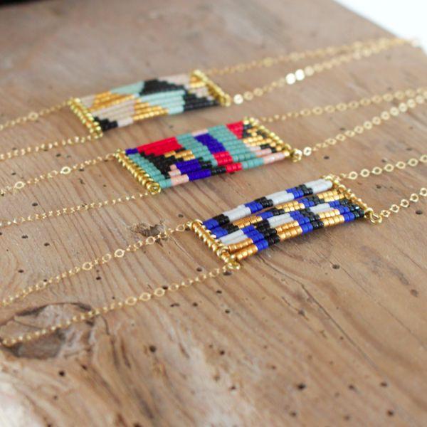 Diy idea: Bracelet perles & chaine