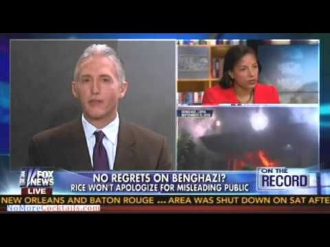 Trey Gowdy blasts Susan Rice - I get tougher questions in the Bojangles drive thru