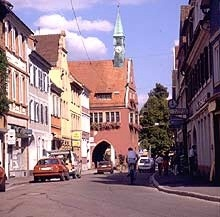 Rathaus in Lahr.  Loved Lahr!