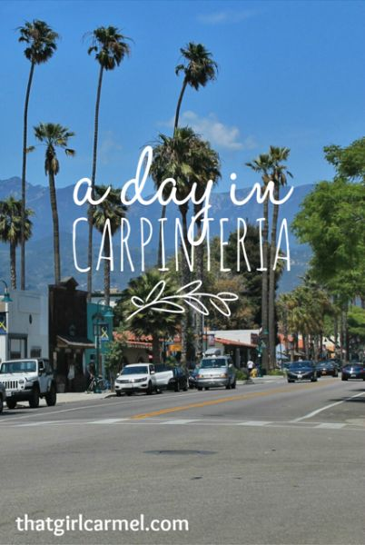 A day trip from L.A. to Carpinteria