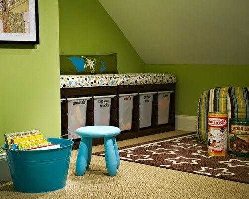 TONS of photos of playrooms (organization ideas)