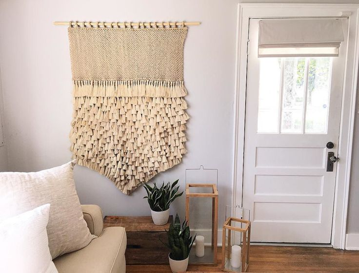 Love seeing our Jumbo Tassel Wall Hanging in the gorgeous home of Our Vintage Farmhouse ! 😍