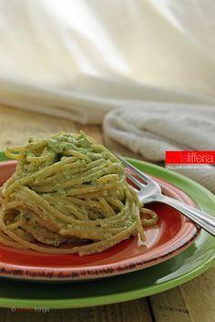 Pasta con crema di zucchine e ricotta