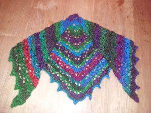 #haken, gratis patroon, Nederlands, Southbay shawl, omslagdoek, verloopgaren, Fenna