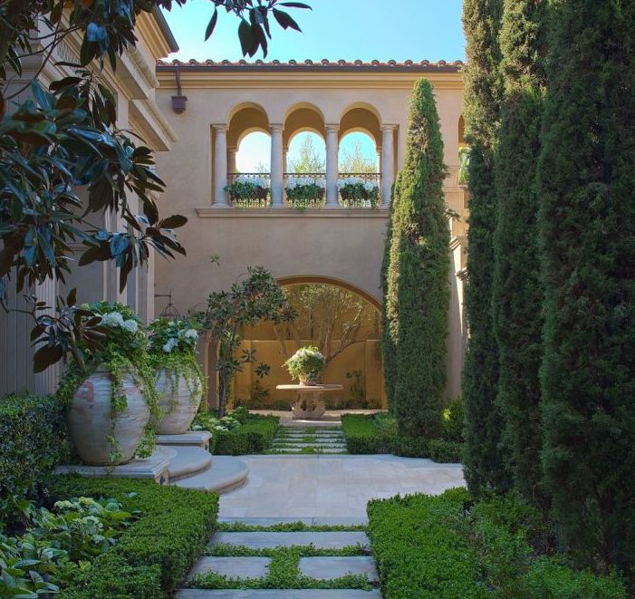 Mediterranean Style Courtyard: 1546 Best Images About Home On Pinterest