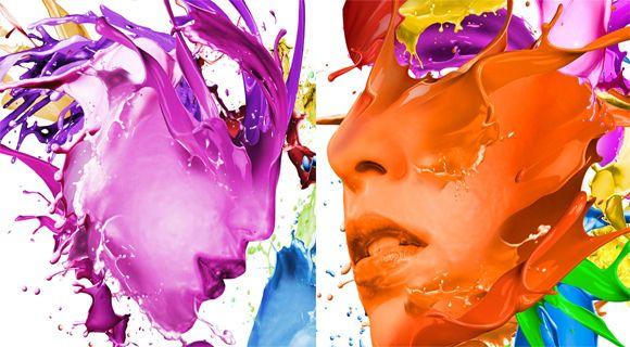 Vibrant #Color Explosion #Artworks by Ferdi Rizkiyanto
