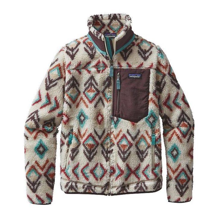 Patagonia Women's Classic Retro-Xu00AE Fleece Jacket - Fern Dell: Natural FDNT