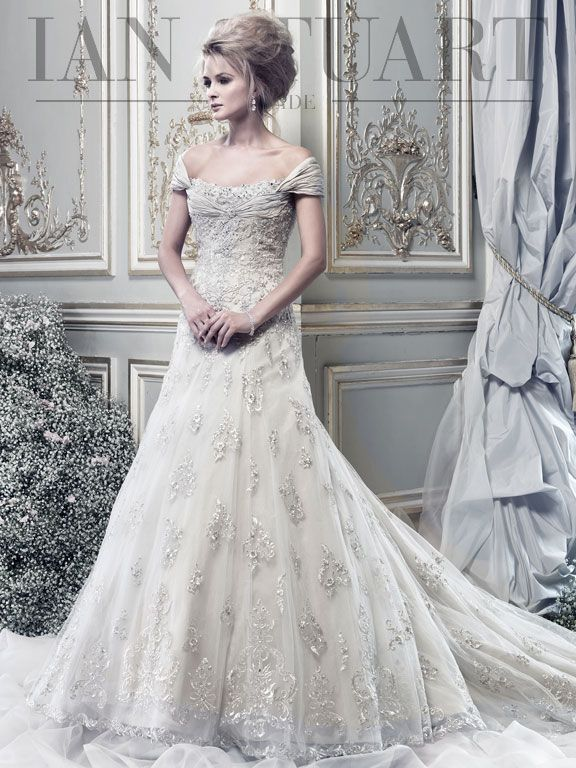 LADY LUXE - Wedding Dress Collection by Ian Stuart - fashionsy.com
