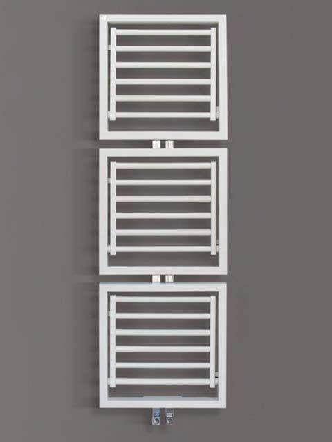 Dryer radiátor: nem csak törölközők szárítására alkalmas, kimondottan 'szárítós' radiátor. Elemeit praktikusan ki lehet hajtogatni, s így tökéletesen lehet ruhákat is szárítani a radiátoron. A ruhaszárítós radiátor 21 RAL színben rendelhető, felár nélkül.