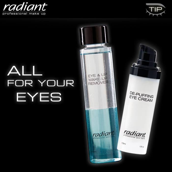 Μην κάνετε τα μάτια σας μάρτυρα της ηλικίας σας. Φροντίστε τα καθημερινά όπως τους αξίζει, με το απαλό ντεμακιγιάζ Eye and Lip Make Up Remover και καταπολεμήστε το πρήξιμο, τις ρυτίδες και τους μαύρους κύκλους με την De-Puffing Eye Cream. Don't let your eyes reveal your age. Treat them every day with the utmost care. Use Eye and Lip Make Up Remover and fight puffiness, lines and dark circles with De-Puffing Eye Cream.