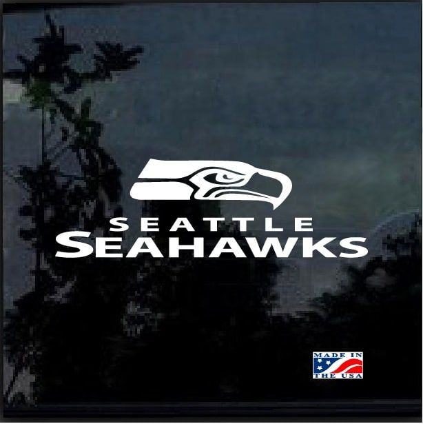 4x4 Seattle Seahawks Perfect Cut Decal