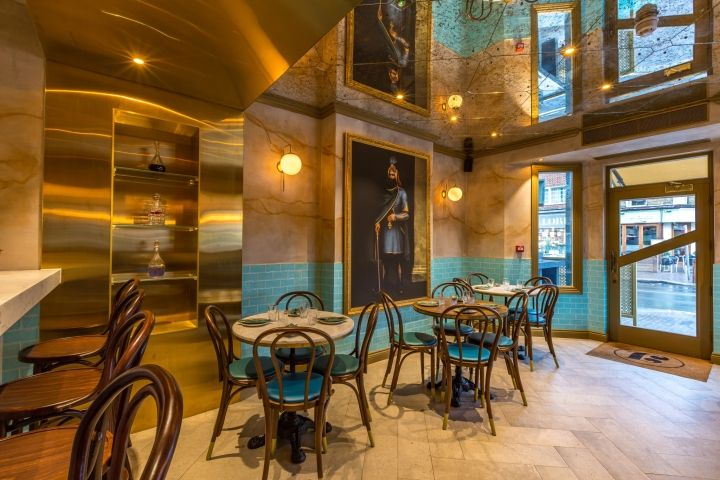 Jan Restaurant by I-AM, London – UK » Retail Design Blog