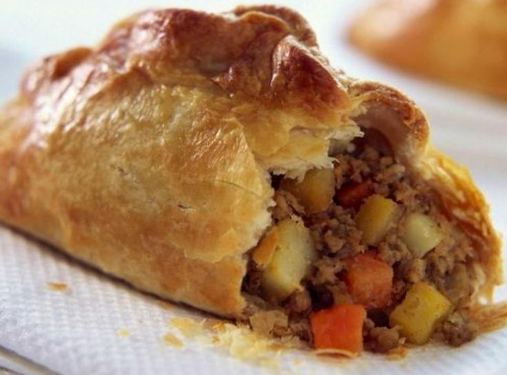 This is a good old fashion pasty that brings back fond memories of family holidays spent in Cornwall when I was growing up. In the 18th century it was a staple diet for working men, like Miners & Farm Workers,  across Cornwall because of its size & shape, which was easy to carry around, the pasty protecting the the wholesome food inside. The ultimate 'packed lunch' where everything is edible. Although the recipe is many years old, first known reference is as far back as the 13th century…